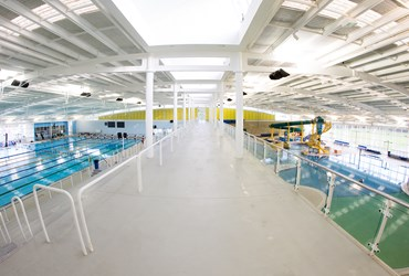 Competition pool and Leisure Pool at HBF Arena Joondalup.jpg