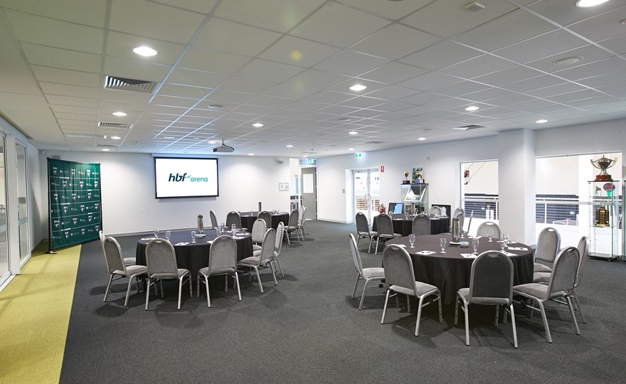 HBF Arena - Functions - Wanneroo Wolves Function Room layout - 3000 x 2000